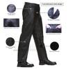 Mens Black Premium Cowhide Jeans Style Biker Motorcycle Leather Pants - Infographics