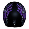 Daytona Cruiser Heaven Sent Helmet - Back View