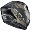Scorpion EXO-R420 Seismic Helmet - Titanium Rear View