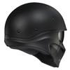 Scorpion Covert X Helmet - Matte Black Rear View
