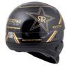 Scorpion Covert Rockstar Half Helmet - Rear View