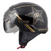 Scorpion Covert Rockstar Half Helmet - Side View