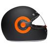Daytona Retro Helmet - Side View