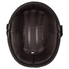 Daytona Novelty Eagle With Skull Flames Silver Half Helmet - Inside
