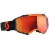 Scott Fury Goggle - Black/Orange