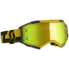Scott Fury Goggle - Black/Yellow