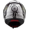 LS2 Rapid Dream Catcher Helmet - Back View