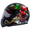 LS2 Rapid Happy Dream Glow In The Dark Helmet - Side View
