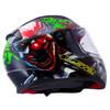 LS2 Rapid Happy Dream Glow In The Dark Helmet - Detail View