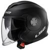 LS2 Verso Helmet - Matte Black
