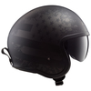 LS2 Spitfire Black Flag Helmet - Side View