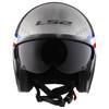 LS2 Spitfire Bomb Rider Helmet - Front View