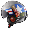 LS2 Spitfire Bomb Rider Helmet - Side View