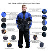 Thunder Under RS5001 Mens and Womens Two Piece Rainsuit Motorcycle Rain Gear - Infographics