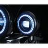 "Kuryakyn Orbit Vision 4-1/2"" LED Passing Lamps For Indian Motorcycles"