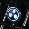 """Kuryakyn Orbit Vision 5-3/4"""" LED Halo Headlight For Harley Davidson / Indian and Victory Motorcycles"""