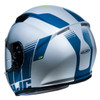 HJC CS-R3 Mylo Helmet - White/Blue Rear View