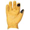 Cortech Ranchero Gloves-Gold-Palm-View