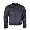 Advanced Vance VL1627 3-Season Mesh/Textile CE Armor Motorcycle Jacket - Front View