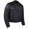 Vance VL1518 Mens Textile Motorcycle Jacket Motorbike Biker Riding Jacket Breathable with CE Armor