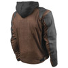 Speed and Strength Mens Straight Savage 2.0 Jacket - Brown Back View
