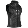 Speed and Strength Womens Hells Belles Leather Vest