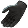 Icon Hooligan Battlescar Gloves - Grey Palm View
