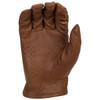 Highway 21 Perforated Louie Gloves - Brown Palm View