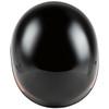 GMax HH 65 Source Naked Half Helmet-Black/Brown-Top-View
