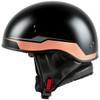 GMax HH 65 Source Naked Half Helmet-Black/Brown-Side-View