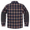 Icon Upstate Riding Flannel Shirt - Orange Back View