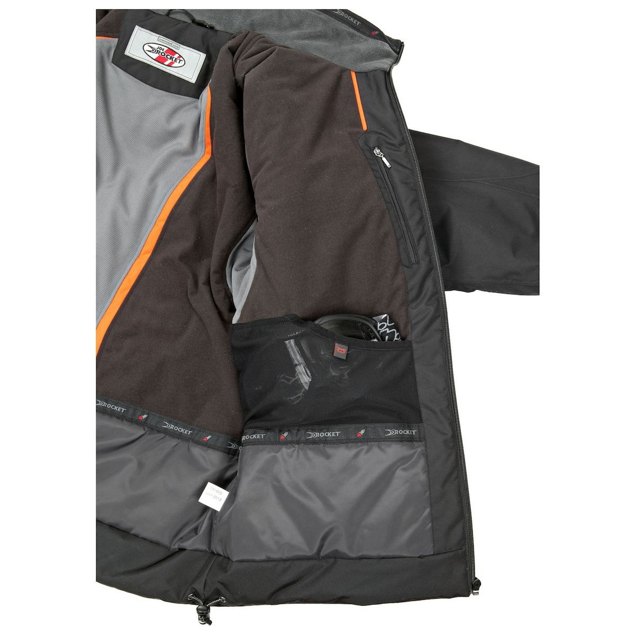 JOE ROCKET ROCKET CREW GREY BLACK 3//4 length Cold Weather Jacket FREE SHIPPING