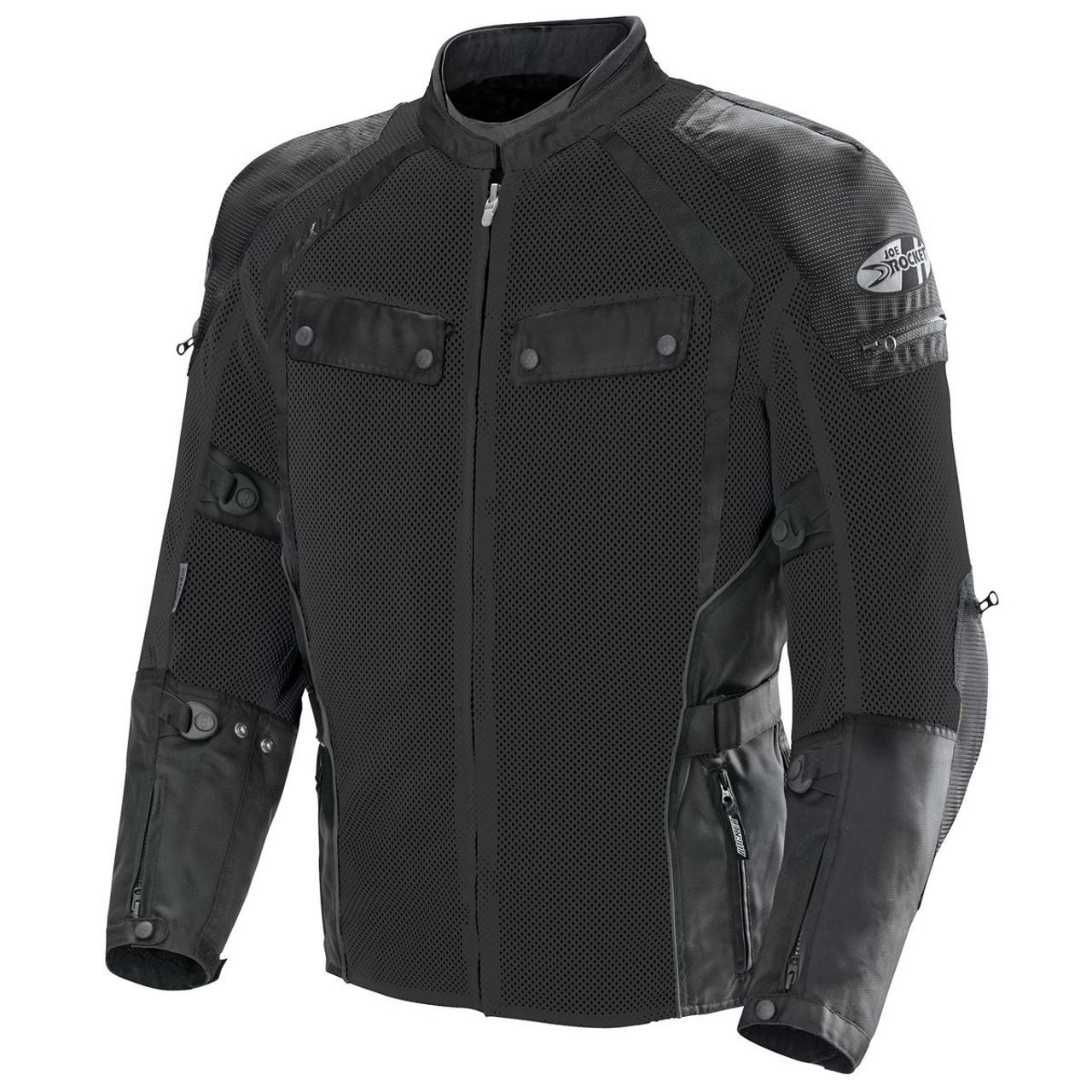 Tourmaster Mens Advanced Textile Motorcycle Jacket Black//Black MDT Medium Tall