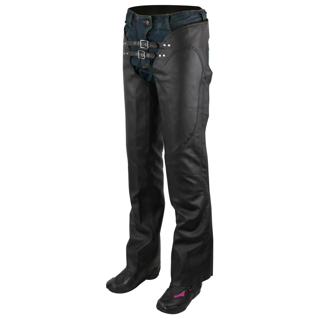 501 Style Fit Men/'s Modern Cut Waist 5 Pocket Cowhide Leather Jeans
