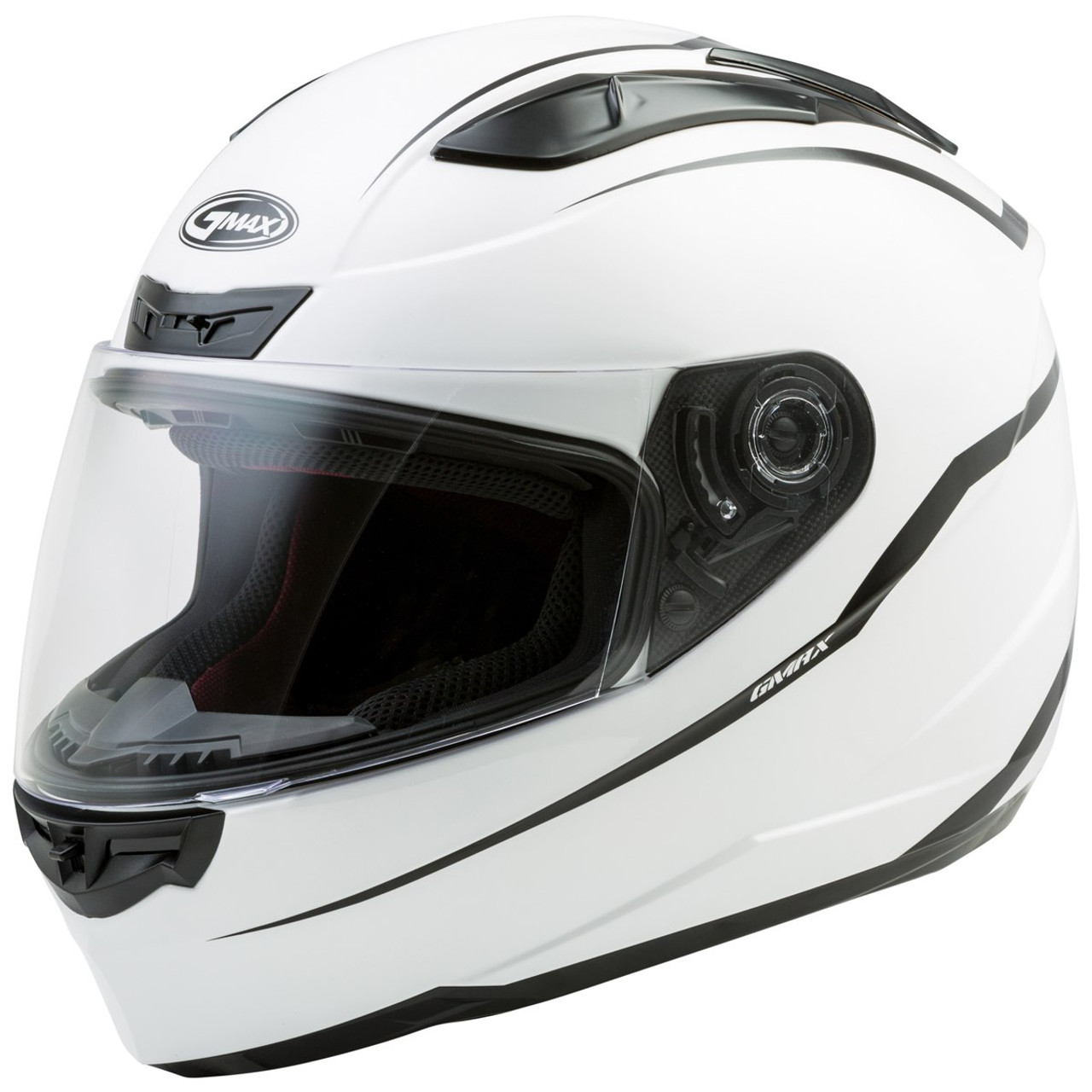 1a49d5a5 ... GMax FF88 Precept Helmet - White Black ...