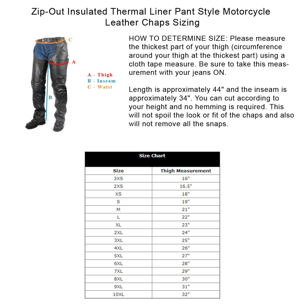 Mens Classic Motorbike Motorcycle Biker Trousers Pants Jeans with Protective Lining,Black,XL
