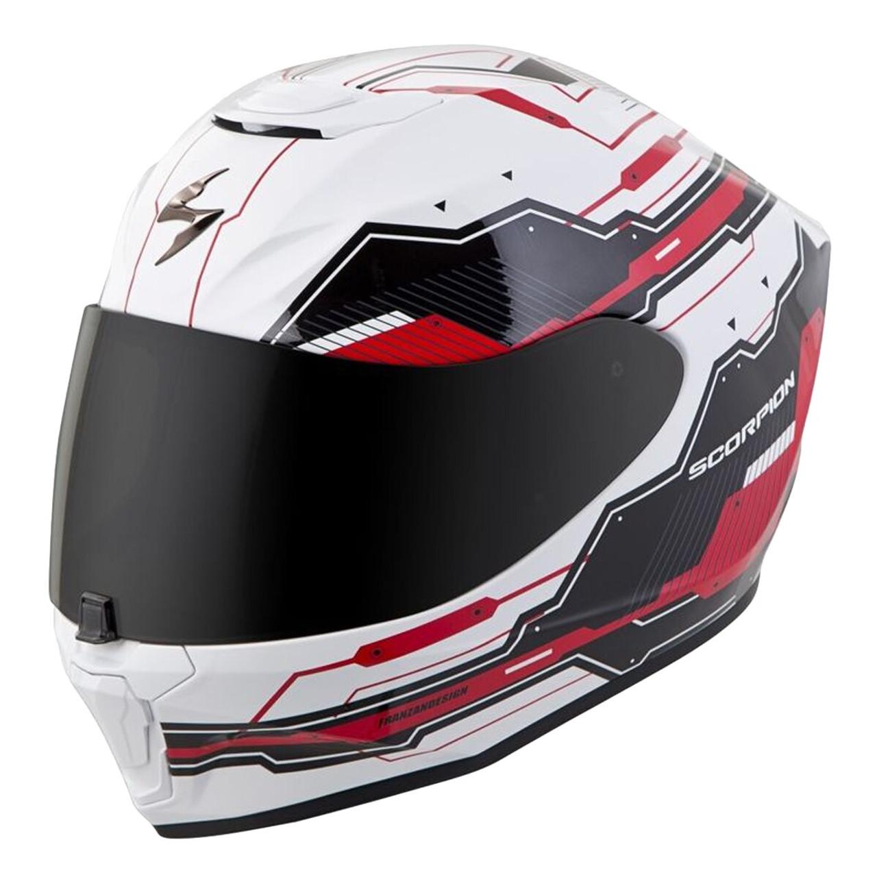 Scorpion Kwikwick EXO-R410 Liner Street Motorcycle Helmet Accessories Grey//Small