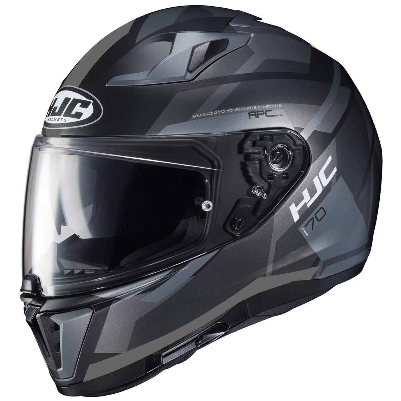 HJC IS-17 Arcus Full Face Motorcycle Motorbike Helmet Orange Black