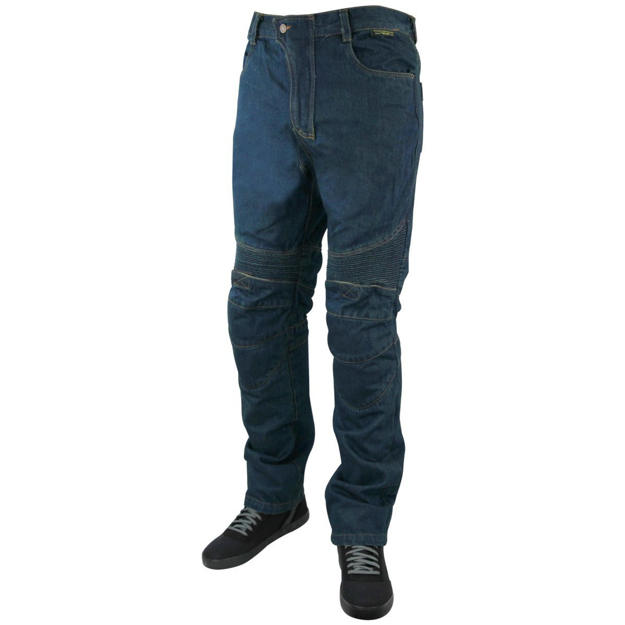 5f1c3a66 Mens Denim Motorcycle Pants with CE Armor and Kevlar - Team Motorcycle