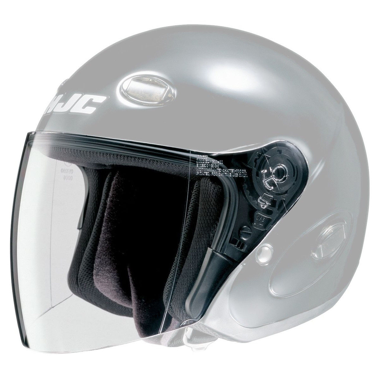 HJC CL-Max HJ-07 Anti-Scratch Dark Smoke Helmet Replacement Shield Visor