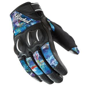 Joe Rocket Women's Cyntek Amethyst Motorcycle Gloves