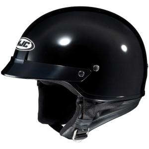 HJC CS-2N Half Helmet - Black