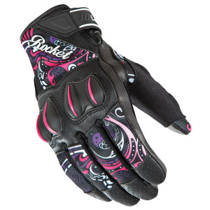 Joe Rocket Women's Cyntek Eye Candy Motorcycle Gloves