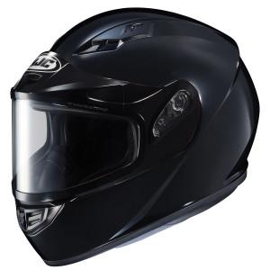 HJC CS-R3 Snow Helmet With Dual Lens Shield - Black