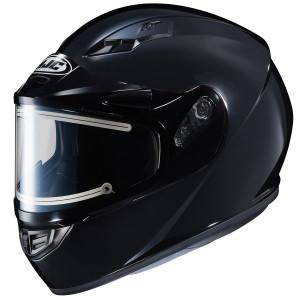 HJC CS-R3 Snow Helmet With Electric Shield - Black