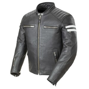 Joe Rocket Classic 92 Mens Leather Motorcycle Jacket