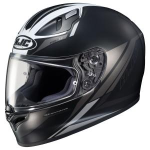 HJC FG-17 Valve Helmet - Black/Silver