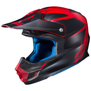 HJC FG-MX Axis Helmet - Black/Red
