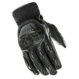 Vented Leather//Fabric Solid Knuckle Summer Motorcycle Gloves TSP £43.99 TECNIK