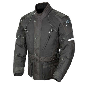 Joe Rocket Ballistic Revolution Waterproof Jacket - Black